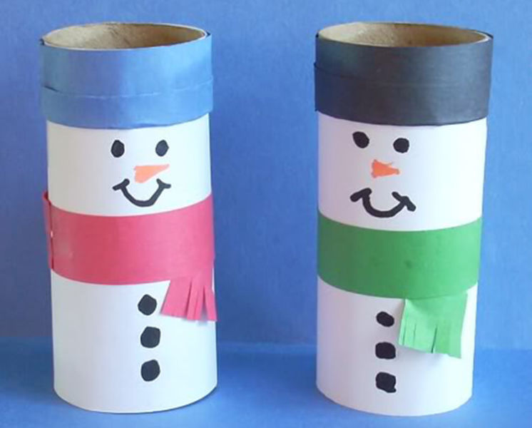 Делаем снеговика своими руками к новому году : различные способы  с фото podelka snegovik svoimi rukami 9