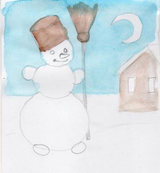 Рисунки на новогоднюю тематику: что можно нарисовать на Новый год risunki na novogodnyuyu temu 118