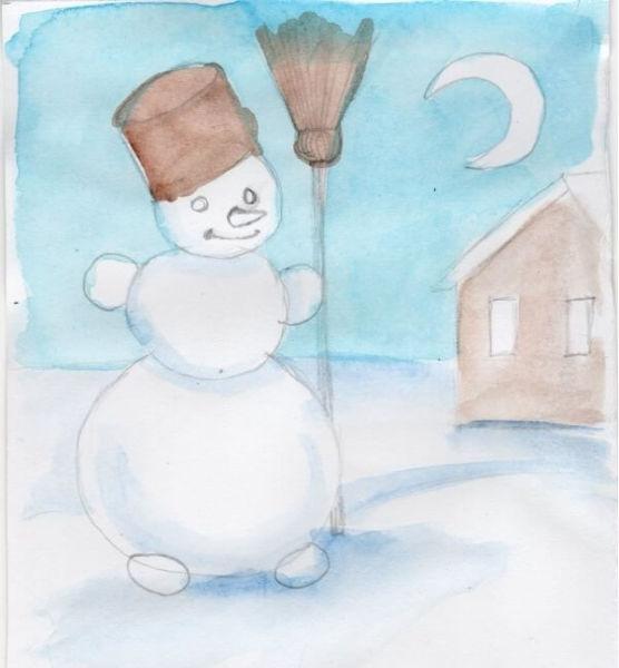 Рисунки на новогоднюю тематику: что можно нарисовать на Новый год risunki na novogodnyuyu temu 119