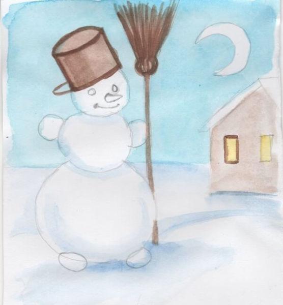 Рисунки на новогоднюю тематику: что можно нарисовать на Новый год risunki na novogodnyuyu temu 120