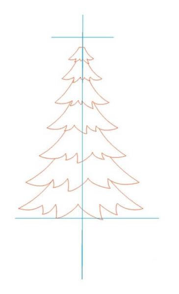 Рисунки на новогоднюю тематику: что можно нарисовать на Новый год risunki na novogodnyuyu temu 19