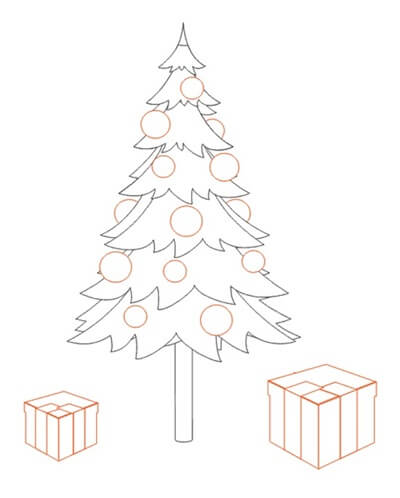 Рисунки на новогоднюю тематику: что можно нарисовать на Новый год risunki na novogodnyuyu temu 21