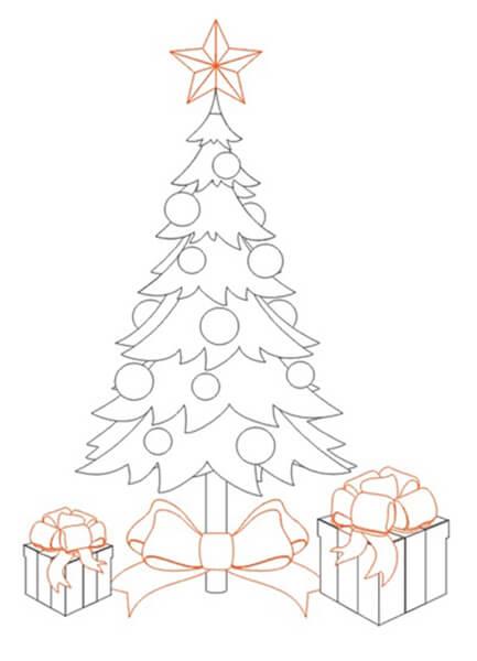 Рисунки на новогоднюю тематику: что можно нарисовать на Новый год risunki na novogodnyuyu temu 22