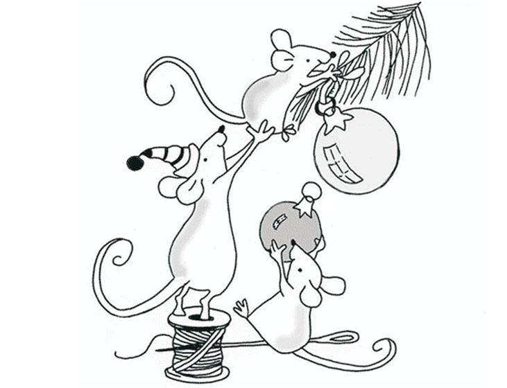 Рисунки на новогоднюю тематику: что можно нарисовать на Новый год risunki na novogodnyuyu temu 29