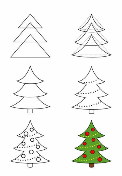 Рисунки на новогоднюю тематику: что можно нарисовать на Новый год risunki na novogodnyuyu temu 3