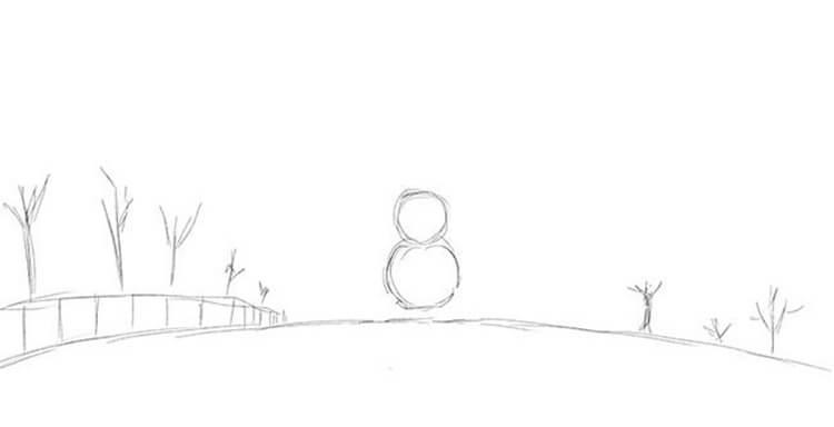 Рисунки на новогоднюю тематику: что можно нарисовать на Новый год risunki na novogodnyuyu temu 35