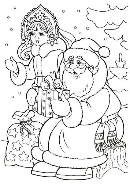 Рисунки на новогоднюю тематику: что можно нарисовать на Новый год risunki na novogodnyuyu temu 49