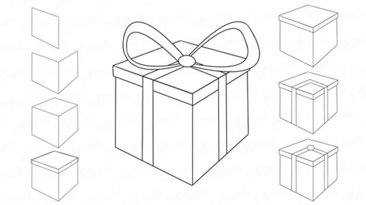 Рисунки на новогоднюю тематику: что можно нарисовать на Новый год risunki na novogodnyuyu temu 5