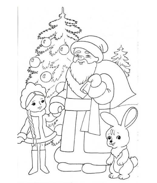 Рисунки на новогоднюю тематику: что можно нарисовать на Новый год risunki na novogodnyuyu temu 51