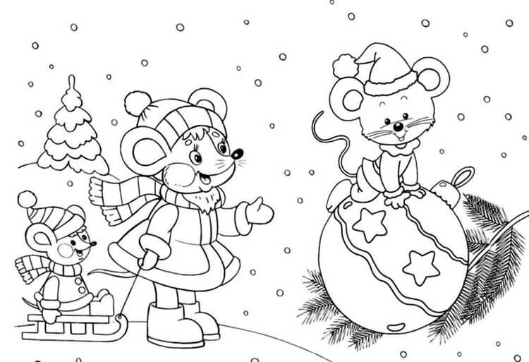 Рисунки на новогоднюю тематику: что можно нарисовать на Новый год risunki na novogodnyuyu temu 55