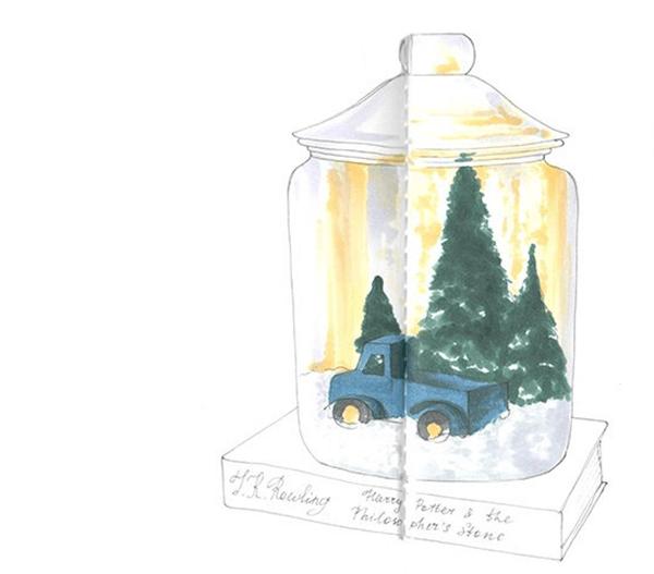 Рисунки на новогоднюю тематику: что можно нарисовать на Новый год risunki na novogodnyuyu temu 69