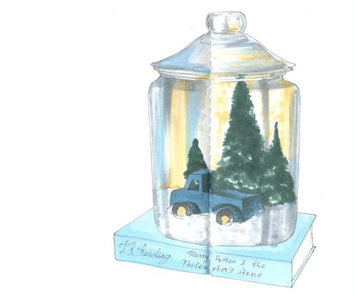Рисунки на новогоднюю тематику: что можно нарисовать на Новый год risunki na novogodnyuyu temu 70