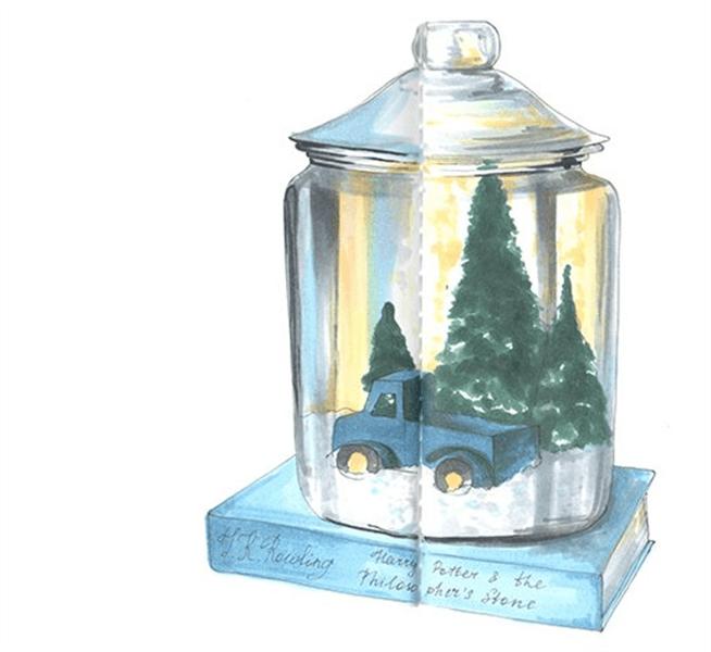 Рисунки на новогоднюю тематику: что можно нарисовать на Новый год risunki na novogodnyuyu temu 71