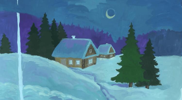 Рисунки на новогоднюю тематику: что можно нарисовать на Новый год risunki na novogodnyuyu temu 91