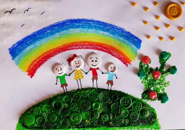 Детские рисунки на день матери: выражаем свою любовь к маме на бумаге risunok na den materi 14