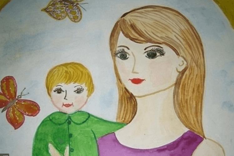 Детские рисунки на день матери: выражаем свою любовь к маме на бумаге risunok na den materi 19