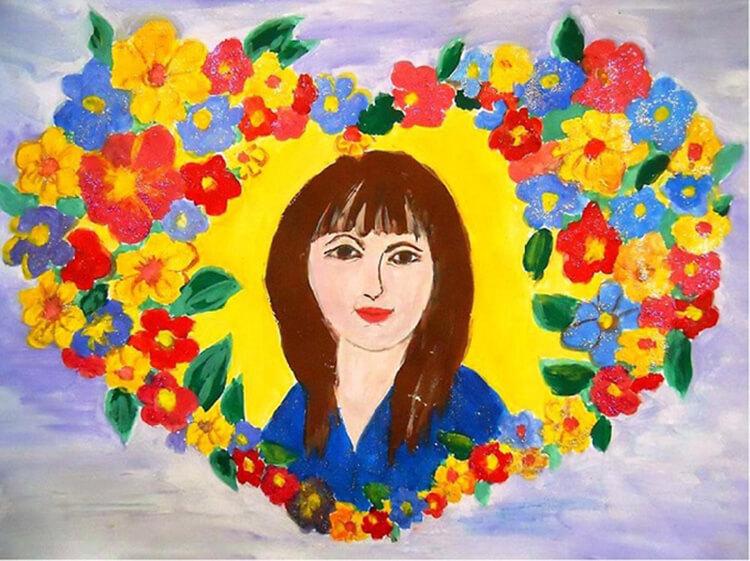 Детские рисунки на день матери: выражаем свою любовь к маме на бумаге risunok na den materi 2