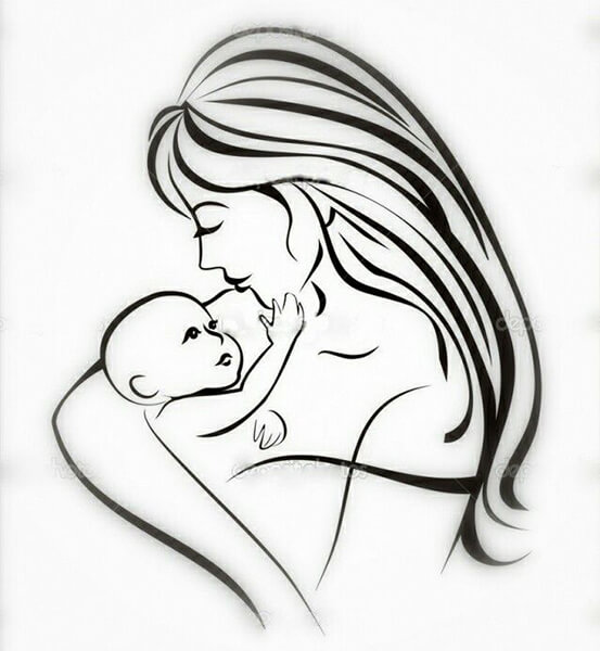 Детские рисунки на день матери: выражаем свою любовь к маме на бумаге risunok na den materi 20