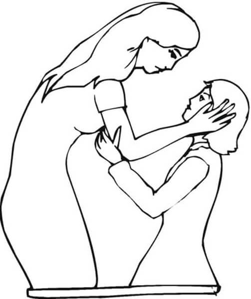 Детские рисунки на день матери: выражаем свою любовь к маме на бумаге risunok na den materi 21