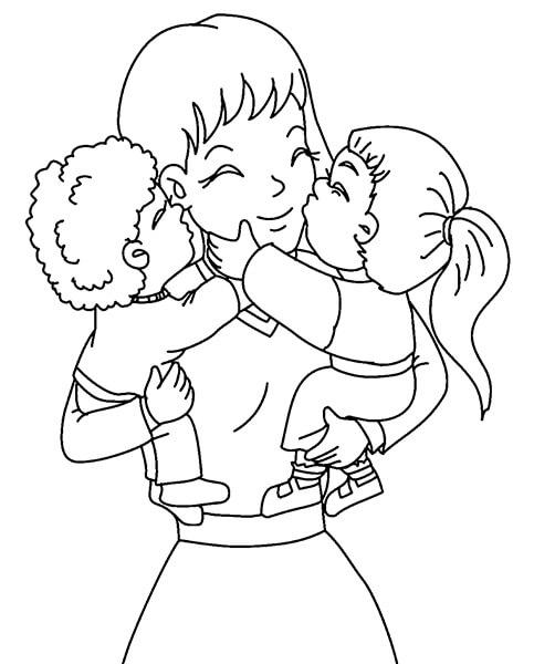 Детские рисунки на день матери: выражаем свою любовь к маме на бумаге risunok na den materi 23