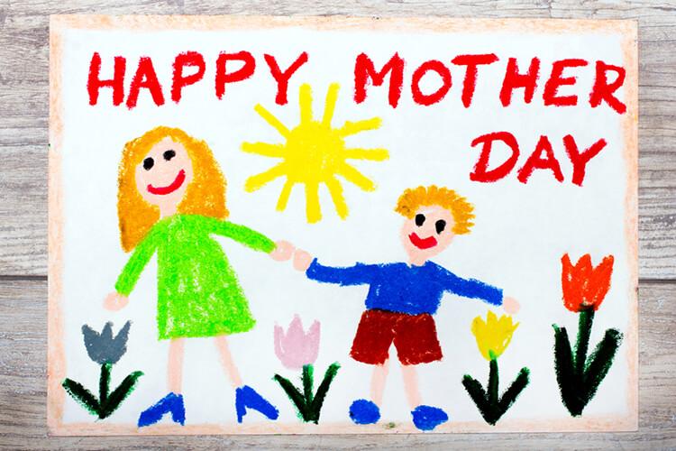 Детские рисунки на день матери: выражаем свою любовь к маме на бумаге risunok na den materi 36