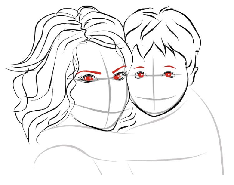 Детские рисунки на день матери: выражаем свою любовь к маме на бумаге risunok na den materi 45