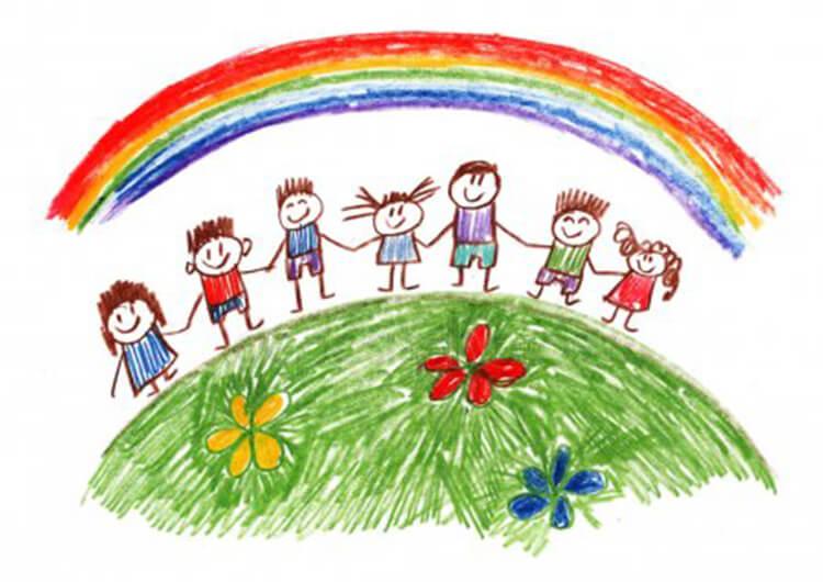Детские рисунки на день матери: выражаем свою любовь к маме на бумаге risunok na den materi 53