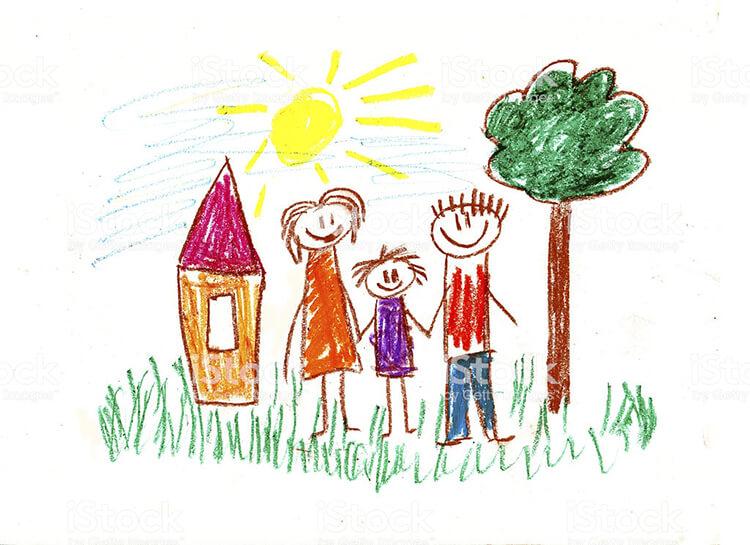 Детские рисунки на день матери: выражаем свою любовь к маме на бумаге risunok na den materi 54