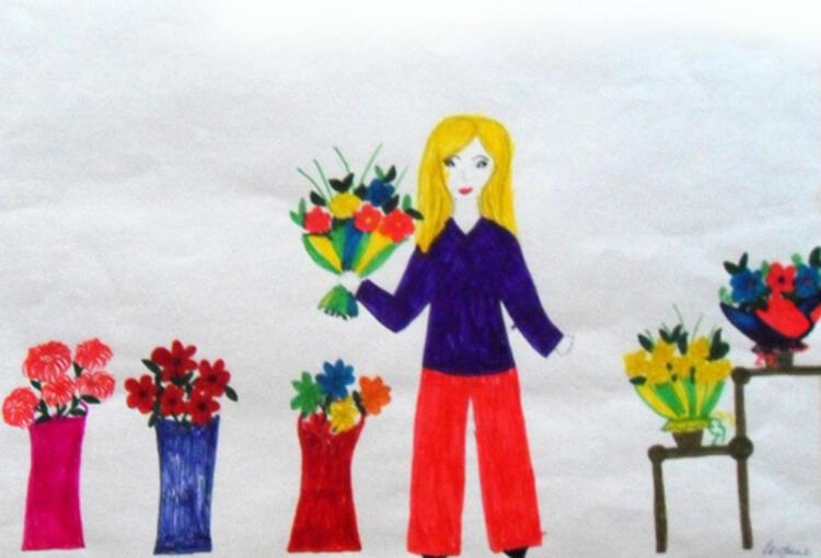 Детские рисунки на день матери: выражаем свою любовь к маме на бумаге risunok na den materi 55