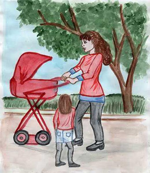 Детские рисунки на день матери: выражаем свою любовь к маме на бумаге risunok na den materi 66