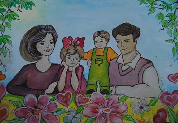 Детские рисунки на день матери: выражаем свою любовь к маме на бумаге risunok na den materi 67