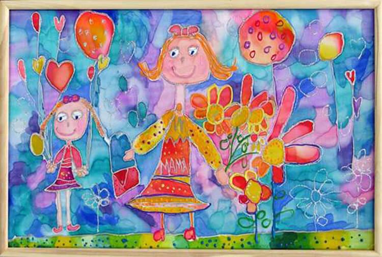 Детские рисунки на день матери: выражаем свою любовь к маме на бумаге risunok na den materi 68
