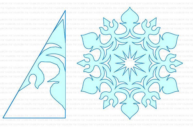 Красивые оригинальные снежинки на Новый год: создаем своими руками, шаблоны с фото snezhinki iz bumagi svoimi rukami 100
