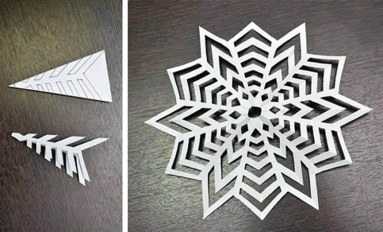 Красивые оригинальные снежинки на Новый год: создаем своими руками, шаблоны с фото snezhinki iz bumagi svoimi rukami 3