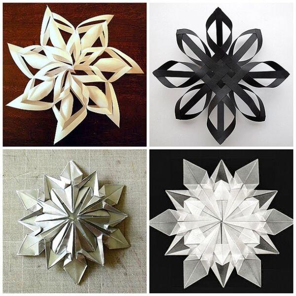 Красивые оригинальные снежинки на Новый год: создаем своими руками, шаблоны с фото snezhinki iz bumagi svoimi rukami 34