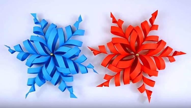 Красивые оригинальные снежинки на Новый год: создаем своими руками, шаблоны с фото snezhinki iz bumagi svoimi rukami 44 2