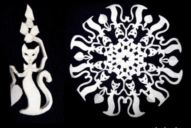Красивые оригинальные снежинки на Новый год: создаем своими руками, шаблоны с фото snezhinki iz bumagi svoimi rukami 45
