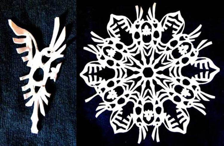 Красивые оригинальные снежинки на Новый год: создаем своими руками, шаблоны с фото snezhinki iz bumagi svoimi rukami 46