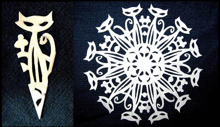 Красивые оригинальные снежинки на Новый год: создаем своими руками, шаблоны с фото snezhinki iz bumagi svoimi rukami 48