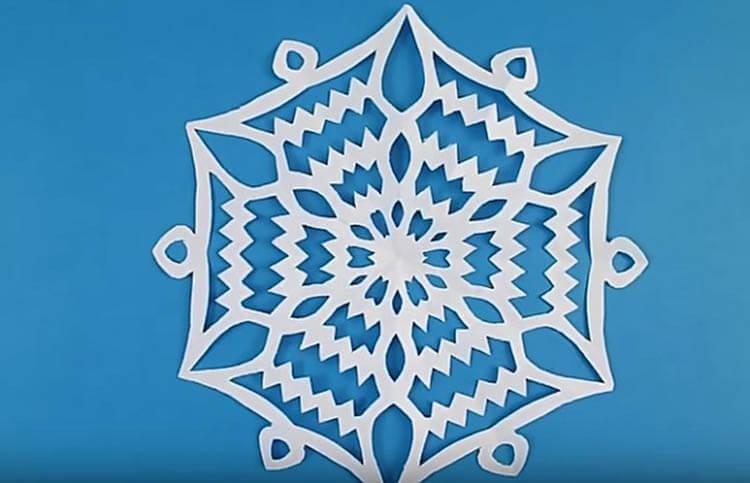 Красивые оригинальные снежинки на Новый год: создаем своими руками, шаблоны с фото snezhinki iz bumagi svoimi rukami 49