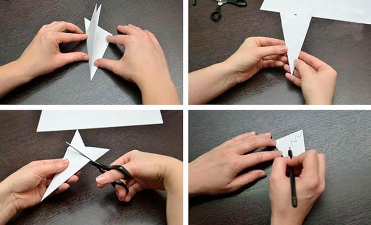 Красивые оригинальные снежинки на Новый год: создаем своими руками, шаблоны с фото snezhinki iz bumagi svoimi rukami 5