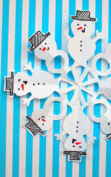 Красивые оригинальные снежинки на Новый год: создаем своими руками, шаблоны с фото snezhinki iz bumagi svoimi rukami 54