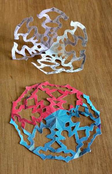Красивые оригинальные снежинки на Новый год: создаем своими руками, шаблоны с фото snezhinki iz bumagi svoimi rukami 57