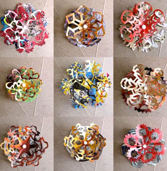 Красивые оригинальные снежинки на Новый год: создаем своими руками, шаблоны с фото snezhinki iz bumagi svoimi rukami 62