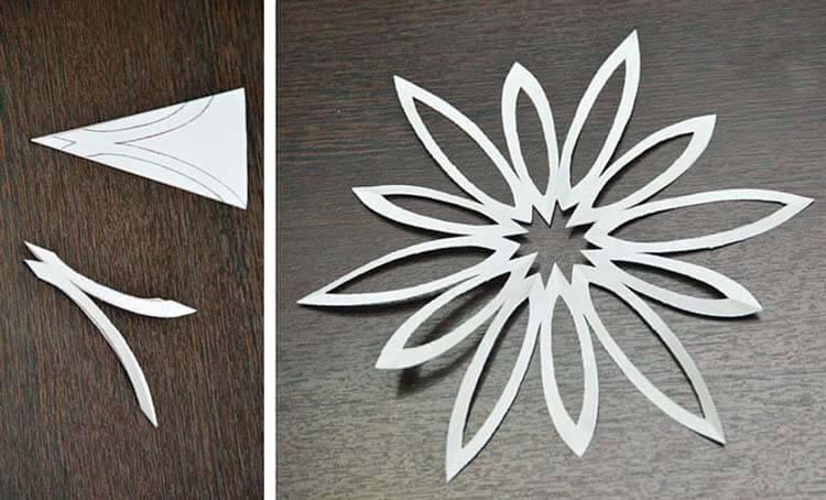 Красивые оригинальные снежинки на Новый год: создаем своими руками, шаблоны с фото snezhinki iz bumagi svoimi rukami 7
