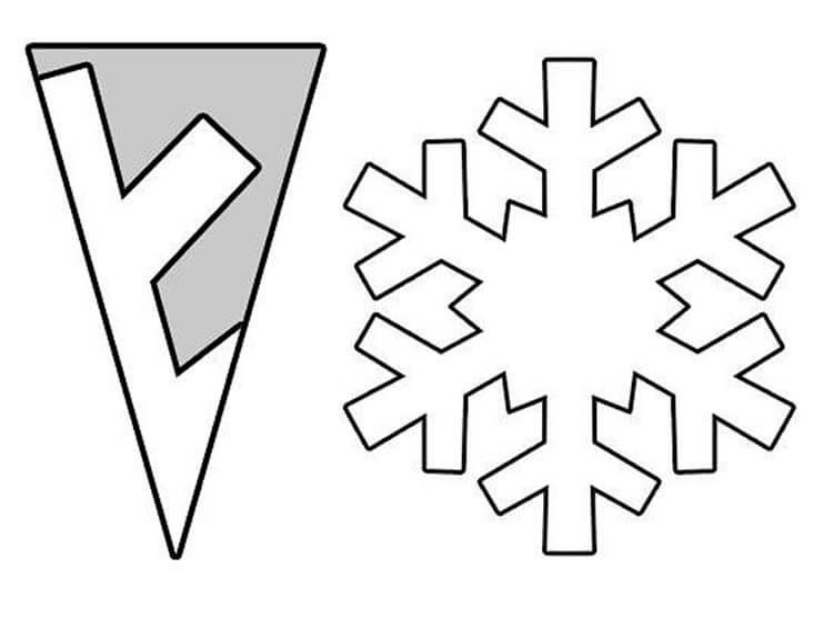Красивые оригинальные снежинки на Новый год: создаем своими руками, шаблоны с фото snezhinki iz bumagi svoimi rukami 75