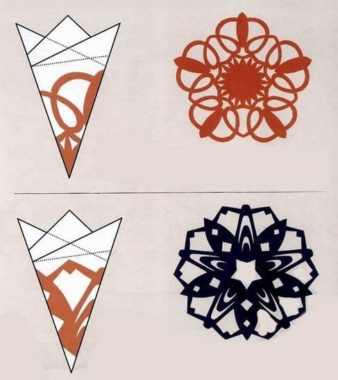 Красивые оригинальные снежинки на Новый год: создаем своими руками, шаблоны с фото snezhinki iz bumagi svoimi rukami 93