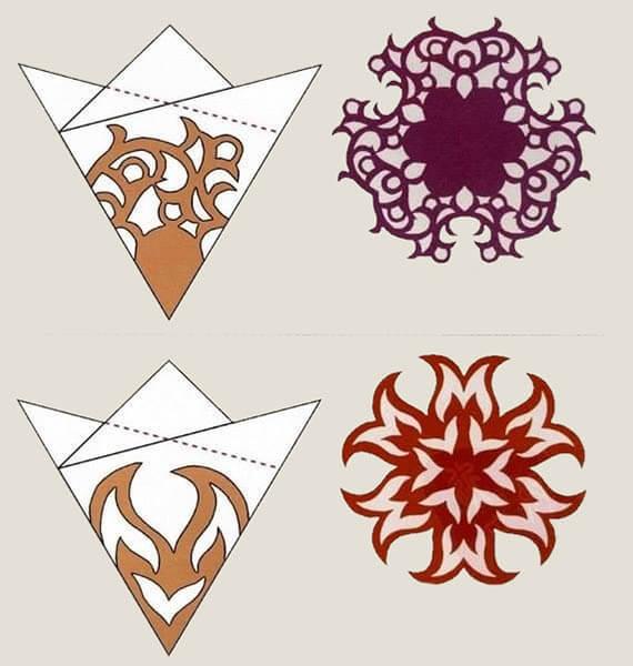 Красивые оригинальные снежинки на Новый год: создаем своими руками, шаблоны с фото snezhinki iz bumagi svoimi rukami 94