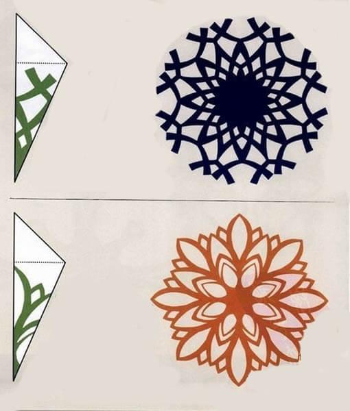 Красивые оригинальные снежинки на Новый год: создаем своими руками, шаблоны с фото snezhinki iz bumagi svoimi rukami 96