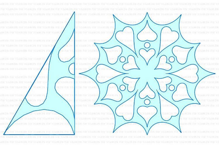 Красивые оригинальные снежинки на Новый год: создаем своими руками, шаблоны с фото snezhinki iz bumagi svoimi rukami 98